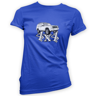 4x4 XJ Womans T-Shirt