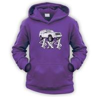 4x4 XJ Kids Hoodie
