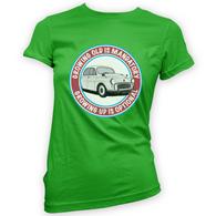Grow Up Optional Morris Womans T-Shirt