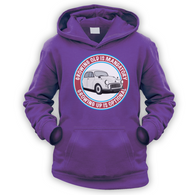Grow Up Optional Morris Kids Hoodie