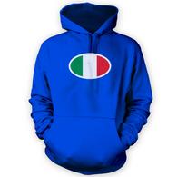 Italian Flag Hoodie