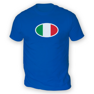 Italian Flag Mens T-Shirt