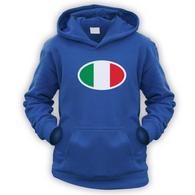 Italian Flag Kids Hoodie