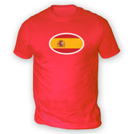 Spanish Flag Mens T-Shirt