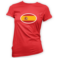 Spanish Flag Womans T-Shirt