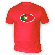 Portuguese Flag Mens T-Shirt