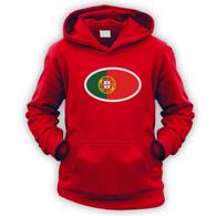 Portuguese Flag Kids Hoodie