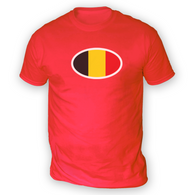 Belgian Flag Mens T-Shirt