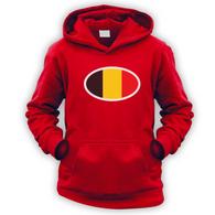 Belgian Flag Kids Hoodie