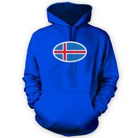 Iceland Flag Hoodie