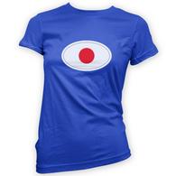 Japanese Flag Womans T-Shirt