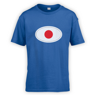 Japanese Flag Kids T-Shirt