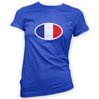 French Flag Womans T-Shirt