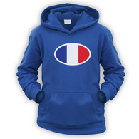 French Flag Kids Hoodie