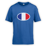 French Flag Kids T-Shirt