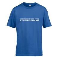 Addicted To Lowering Kids T-Shirt