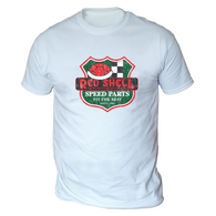 Red Shell Speed Parts Mens T-Shirt