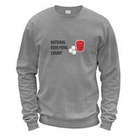 Beer Pong Champ Sweater