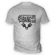 4 Stroke Pistons Mens T-Shirt