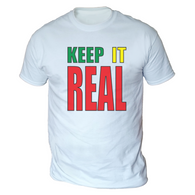Keep Staines Real Mens T-Shirt