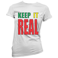 Keep Staines Real Womans T-Shirt