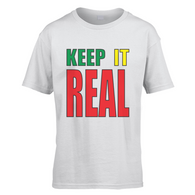 Keep Staines Real Kids T-Shirt