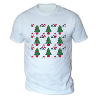 Santa Tree Mens T-Shirt