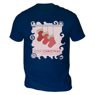 Xmas Stockings Mens T-Shirt