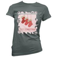 Xmas Stockings Womans T-Shirt