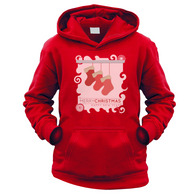 Xmas Stockings Kids Hoodie