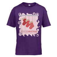 Xmas Stockings Kids T-Shirt