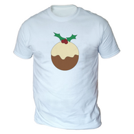 Xmas Pudding Mens T-Shirt