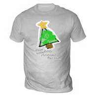Wear Something Christmassy Mens T-Shirt