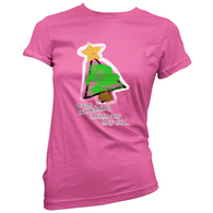 Wear Something Christmassy Womans T-Shirt