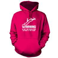 Warning Escalators Hoodie