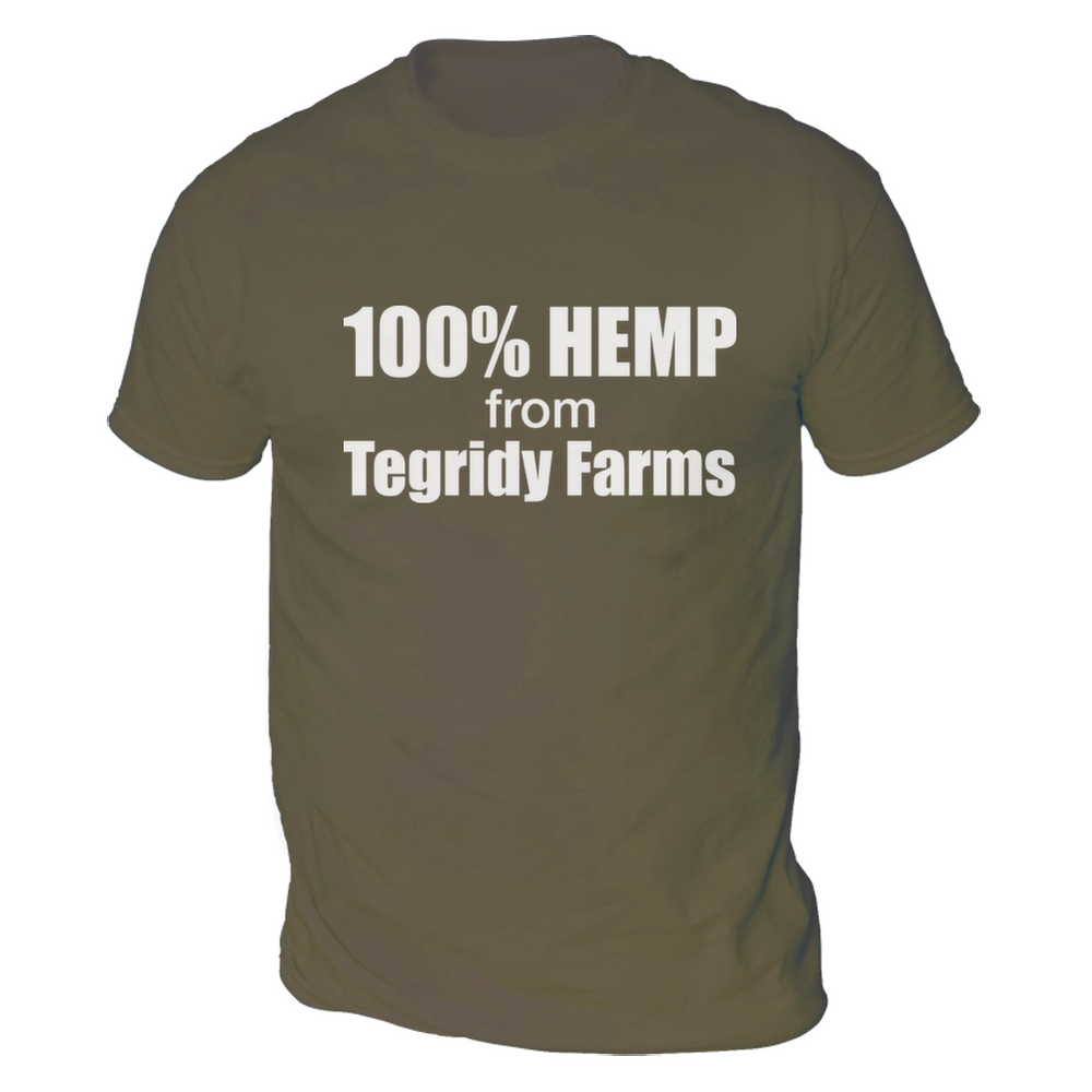 446c43fb Tegridy Farms Mens T-Shirt