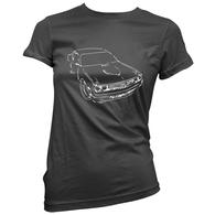 Challenger Sketch Womans T-Shirt