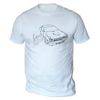 Challenger Sketch V8 Mens T-Shirt