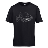 Challenger Sketch V8 Kids T-Shirt