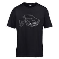 Challenger Sketch V8 Kids T-Shirt