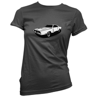 Charger Womans T-Shirt