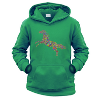 Magnificent Horse Kids Hoodie