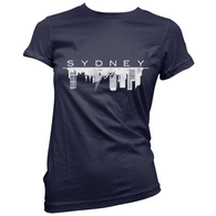 Sydney Skyline Womens T-Shirt