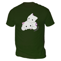 Cute Cats Mens T-Shirt