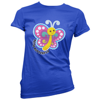 Beth Butterfly Womens T-Shirt