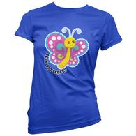 Beth Butterfly Womens T-Shirt
