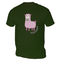 Andy Alpaca Mens T-Shirt