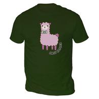 Andy Alpaca Mens T-Shirt