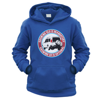 Grow Up Optional Disco2 Kids Hoodie