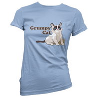 Grumpy Cat Womens T-Shirt